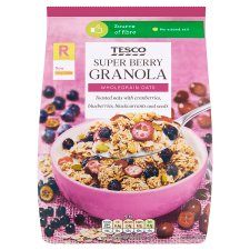 Tesco Super Berry Granola 500G