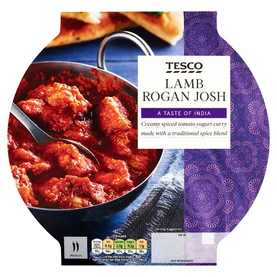 Tesco Indian Lamb Rogan Josh 460G
