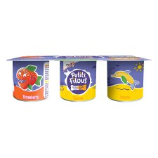 image 2 of Petits Filous Strawberry And Banana Fromage Frais 6 X47g