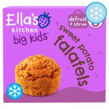 Ella's Kitchen Big Kids Sweet Potato Falafels 200G