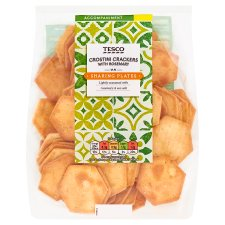 Tesco Crostini Crackers With Rosemary 180G