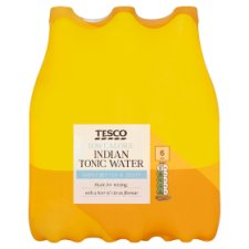 Tesco Low Calorie Indian Tonic Water 6X1l