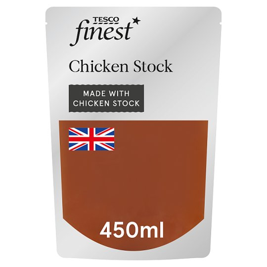 Tesco Finest Chicken Stock 450Ml