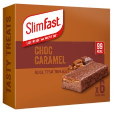 Slimfast Chocolate Caramel Treat Bars 6X26g