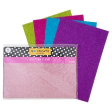 Tesco Go Create Glitter Card