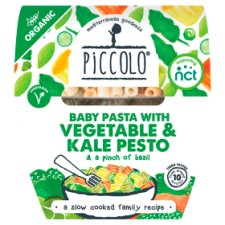 Piccolo Organic Pea Penne With Vegetables Kale Pesto 180G