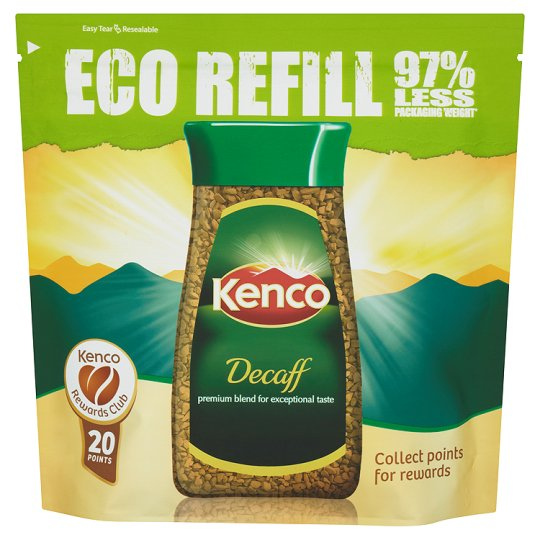 Kenco Decaffeinated Instant Coffee Refill 150G