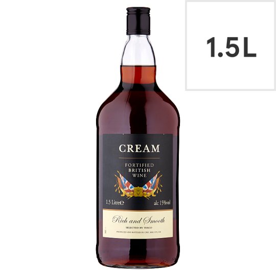 Tesco Full Cream *F/Tied British Wine 1.5L