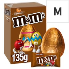 M&Ms Choco Medium Egg 135G