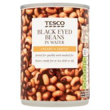 Tesco Black Eyed Beans In Water 400G