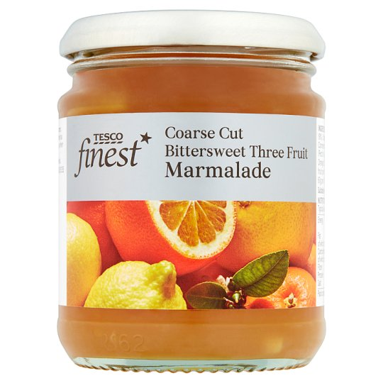 Tesco Finest Three Fruit Marmalade 340G