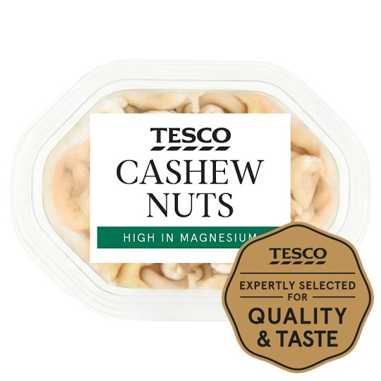 image 1 of Tesco Cashew Nuts Snack Pack 60G
