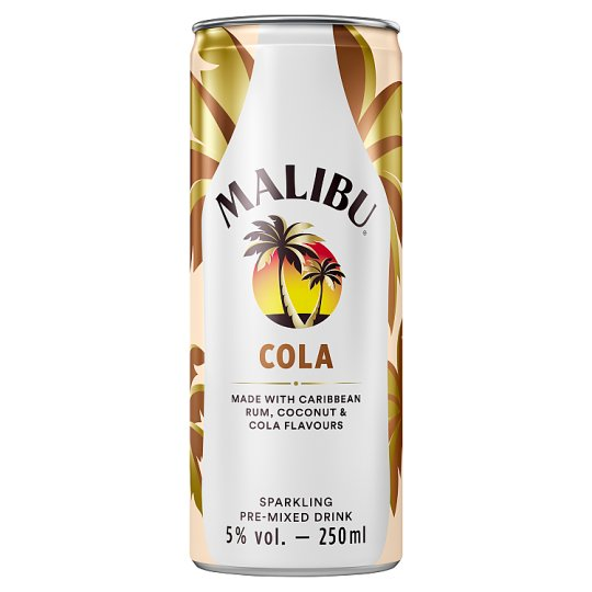 Malibu And Cola 250Ml