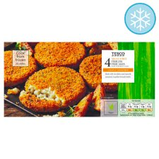 Tesco Meat Free 4 Fishless Fishcakes 360G