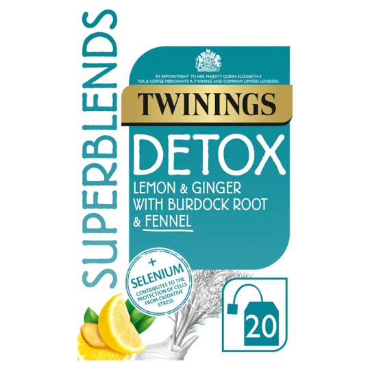 Twinings Superblends Detox 40G