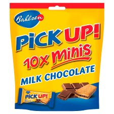 Bahlsen Pick Up! Minis Milk Chocolate 10.6Gx10