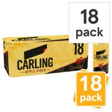 Carling Cider Apple 18X440ml