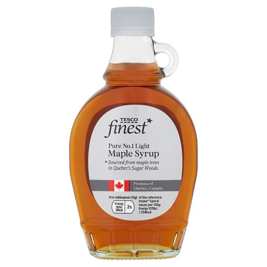 Tesco Finest Maple Syrup No 1 Light 330G