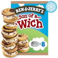 Ben And Jerry's Son Of A Wich Ice Cream 8 X30ml