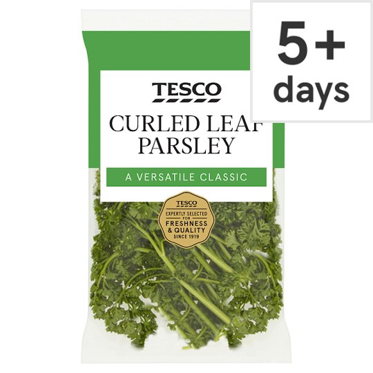 image 1 of Tesco Fresh Cut Curled Parsley 30G