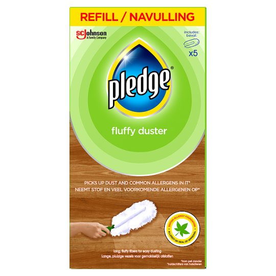 Pledge Fluffy Duster Refills 5 Pack