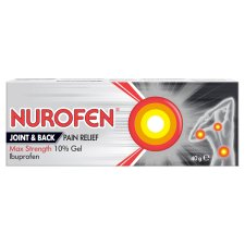 Nurofen Joint&Back Pain 10% Gel 40G