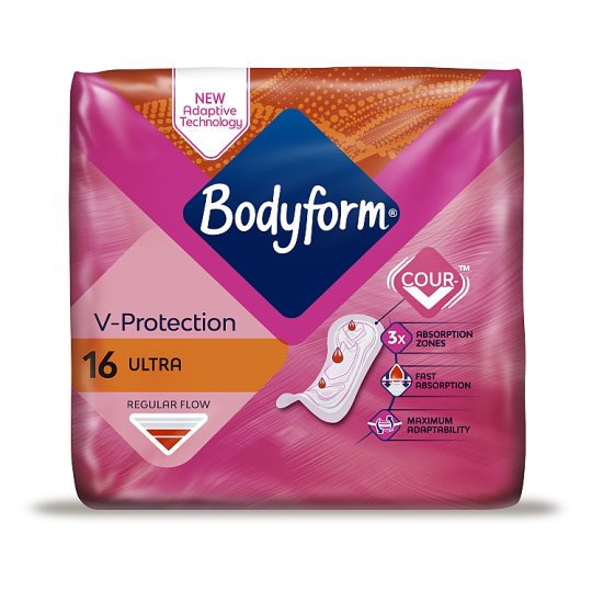 Bodyform Ultra Normal Sanitary Towels 16 Pack