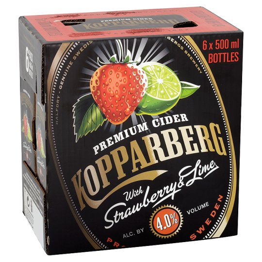 Kopparberg Strawberry And Lime 6X500ml