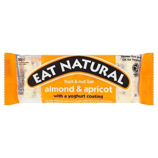 Eat Natural Almond And Apricot Yoghurt Coated Bar 50G
