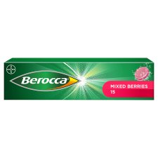 Berocca Berries Effervescent Vitamin Energy Tablets 15S