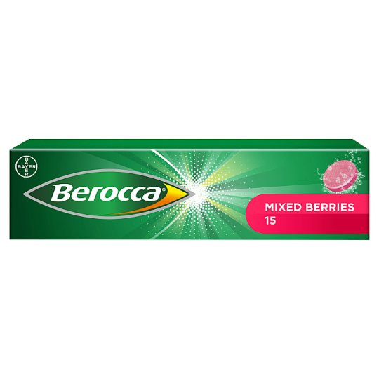 Berocca Mixed Berry Effervescent15's