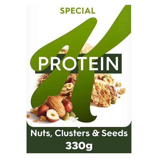Kelloggs Special K Protein Nuts Clusters And Seeds 330G