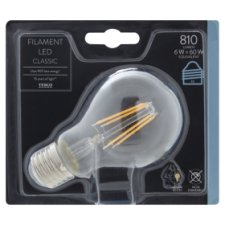Tesco Led Filament Classic 60W Edison Screw