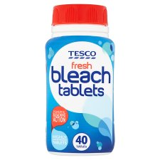 Tesco Fresh Bleach Tablets X40 160G