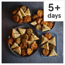 Tesco Indian Party Food Selection, 48 Pieces, Serves 12-16