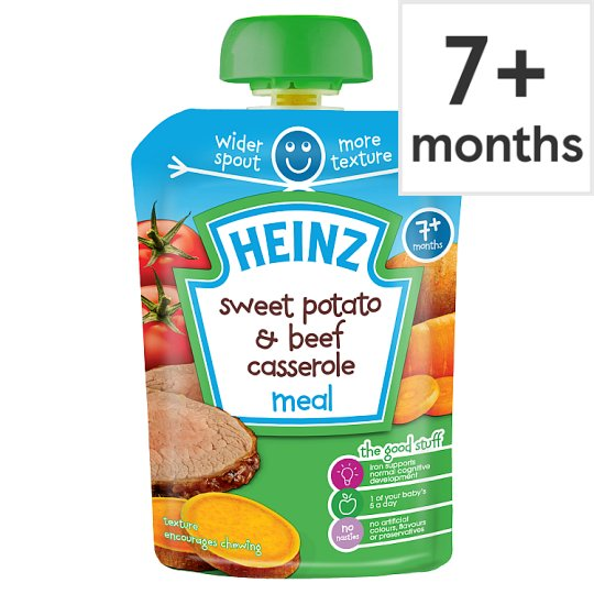 Heinz Savoury Pouch Sweet Potato And Beef Casserole 130G