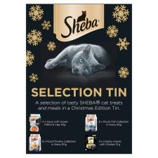 Sheba Pet Cat Christmas Selection Tin 808G