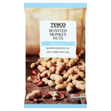 Tesco Unsalted Roasted Monkey Nuts 300 G