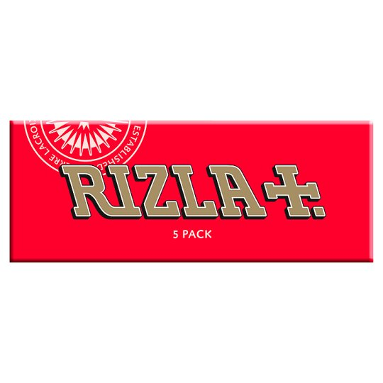 Rizla Red Papers Multi 5 Pack