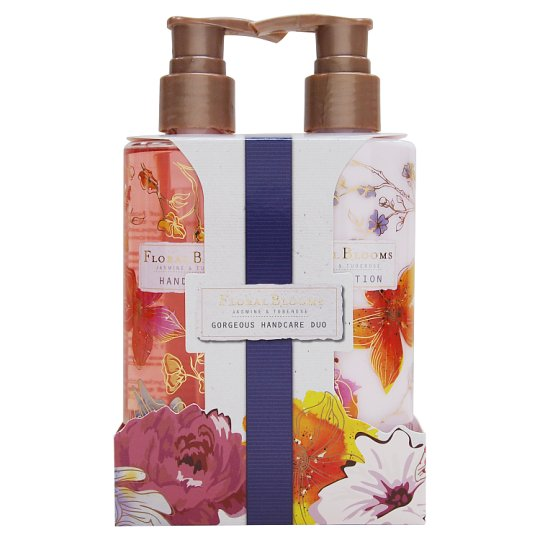 Floral Blooms Gorgeous Hand Duo