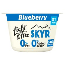 Light And Free Skyr Blueberry 150G