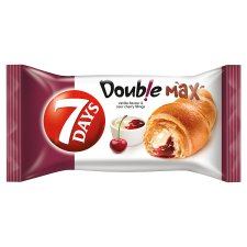 7 Days Double Max Croissant With Vanilla And Cherry 80G