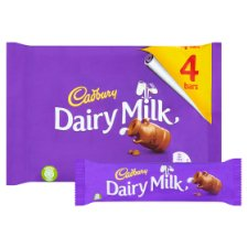 image 2 of Cadbury Dairy Milk Chocolate Multipack 4 X36g