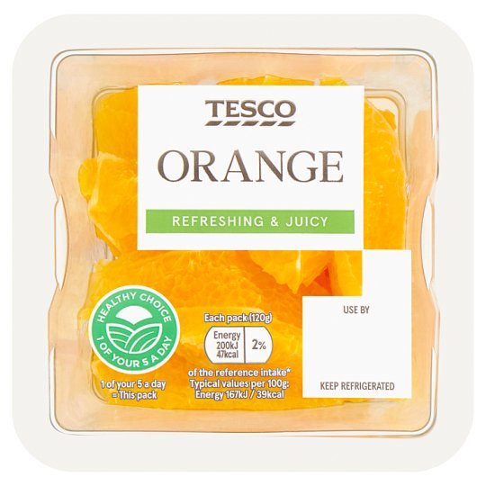 Tesco Orange Slices 120G