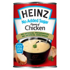 Heinz No Added Sugar Cream Chicken Soup 400G