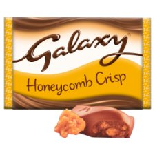 image 2 of Galaxy Honeycomb Crisp Chocolate Bar 114G
