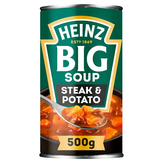 Heinz Big Mighty Steak And Potato Soup 500G