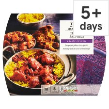 Tesco Meal For One Chicken Jalfrezi Meal 550G