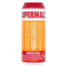 Supermalt Extra Original Malt Drink 500Ml
