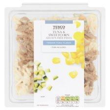 Tesco Gluten Free Tuna And Sweetcorn Pasta 275G